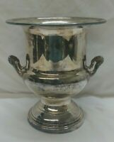 Vintage Silverplate Oneida OL Champagne Ice Bucket Ornate Handles