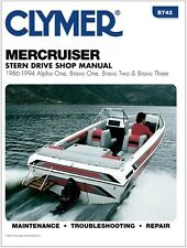 CLYMER MERCRUISER GM INLINE 4 CYLINDER 3.0L 181 REPAIR SERVICE SHOP MANUAL 86-94