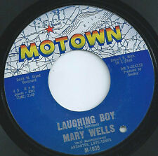 """MARY WELLS NORTHERN SOUL 45 """"LAUGHING BOY"""" / """"TWO WRONGS DON'T MAKE A RIGHT"""""""