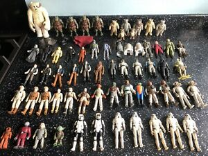 vintage Original Starwars Job Lot 63+