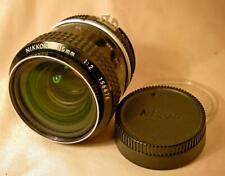 NIKON NIKKOR Ai-S 35/2 35mm f2 LENS Nikon F camera mount MANUAL focus FINE CONDN
