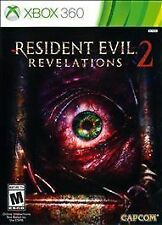Resident Evil Revelations 2 (Microsoft Xbox 360, 2015) No Manual