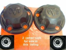 "1998-2003 2 Dodge Ram Van 1500 2500 3500 Center Caps Cap Hubcap 15"" rim B1 7.25"""