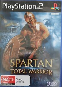 PS2 Spartan Total Warrior Sony PlayStation 2 Game Inc Manual