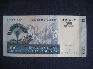 MADAGASCAR 2004-06 ISSUE - 100 ARIARY NEW SIGNATURE - MULTIBUY OFFER - UNC