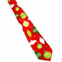 Print Christmas Tie Men's Fashion Silk Neckties Festival Tie Necktie Gift NN