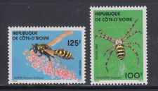 Ivory Coast 1984 Insects Sc 710-711   mint lightly hinged