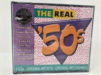 The Real 50's 3-CD Original Recordings Como, Fisher, Belafonte  New 2002 BMG