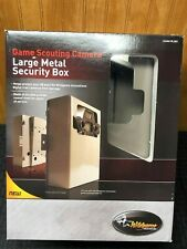Wildgame Innovations Game Camera Large Metal Security Box Lsb1 Hunting HeavyDuty