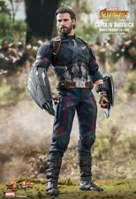 HOT TOYS - CAPTAIN AMERICA MOVIE PROMO EDITION - MMS481 - INFINITY WAR - SEALED