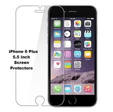 5 x LCD FRONT SCREEN PROTECTOR FOR APPLE IPHONE 6 PLUS 5.5 inch