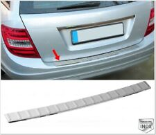 Chrome Rear Bumper Protector for Mercedes C class S204 W204 WAGON 2007-2014