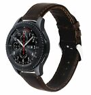 Retro Genuine Leather Strap Belt Watch Band Samsung Gear S3 Frontier / Classic
