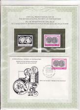enveloppe timbre neuf et argent association receveurs de la poste Argentine