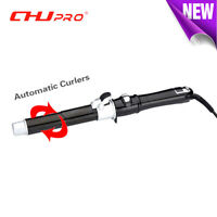 CHJpro Automatic Hair Curler 25mm Curling Iron Crimper Wand Curler Curling Wand