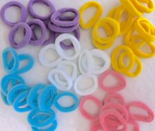 20 X Small Nylon Hair Bobbles Kids Elastic Hair Band Bobble Girls Baby Toddler