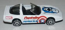 Maisto Corvette ZR-1 'Captain America' Model Car - 2003 - MARVEL - ede