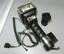 Metz Mecablitz 45 CL-4 Handle Mount Flash bundle, cords, battery unit