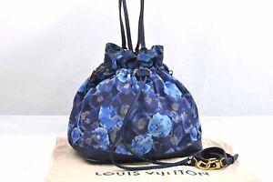 Louis Vuitton Monogram Ikat Flower Noefull MM Shoulder Bag Blue M94312 95995