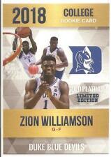 Zion Williamson - Duke Blue Devils - Rookie Phenom