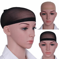1pc Wig Cap Black Nude Breathable Stocking Nylon Stretch Hair Liner Unisex New