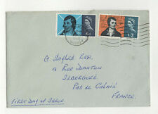 FDC England Angleterre enveloppe timbre 1er jour 1965 / B5fdc12