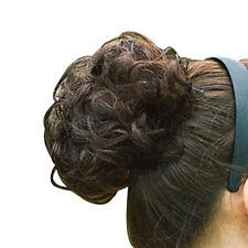 Womens Girls Pony Tail Hair Extension Bun Hairpiece Scrunchie As Human Hair SP