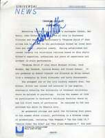 John Ritter Psa Dna Coa Hand Signed Problem Child Release Autograph