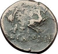 Thessalonica Macedonia RARE R1 Roman Control Greek Coin JANUS CENTAURS i61317