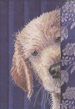 Cross Stitch Kit - Heirloom Collection I Didn't Do It Cute Puppy Dog #45518