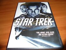 Star Trek (DVD, Widescreen 2009) Zachary Quinto Chris Pine, Eric Bana Used