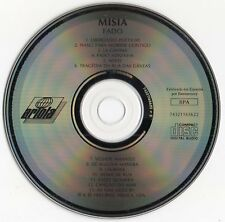 "MISIA ""FADO"" UNTRA RARE PORTUGUESE CD MADE IN SPAIN / MÍSIA - JACQUES BREL"