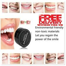Natural Organic Activated Charcoal Tooth Teeth Whitening Powder 100 Mint Bamboo