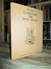 IMAGERIE PELLERIN.- 1962.- La fontaine des trois soldats.- Campagnes de Napoléon