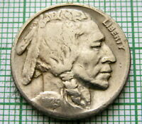 UNITED STATES 1925 P BUFFALO NICKEL, PHILADELPHIA MINT
