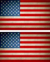 2x Sticker aufkleber Flaggen flagge fahne vintage USA amerika