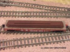 Hay Brothers STEEL BEAMS LOAD - Fits 40 / 40+ foot Flatcars & Gondolas