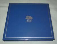 Club Nintendo DS 9-Cartridge/7-Stylus Blue Carrying Case w/Styluses VERY RARE!