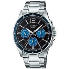 Casio Analog Casual Watch Enticer Silver Mens Mtp-1374d-2a