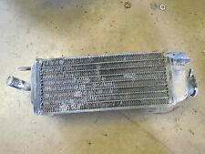 suzuki RM125 right fill side radiator cooler rm125 85 1985 1984 84