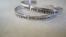 """ i Love you most""...ilove you mostest Bracelets (2) lower case"