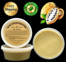 Cocoa Butter Raw 8 oz. 100% Pure Organic Unrefined FOOD GRADE  Cacao Beans