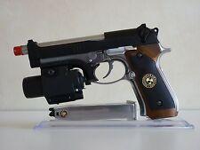 WE Tech Resident Evil (Biohazard) Samurai Edge Wesker Custom GBB Airsoft Pistol