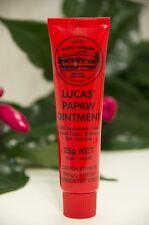 25g Lucas Papaw Ointment Pawpaw Cream Tube Nappy Rash Lip Balm Sunburn Boils