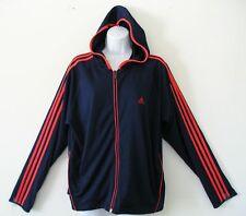 RARE~Adidas BC BRIO HOODY Track sweat shirt Jacket supergirl firebird~Womens Lrg