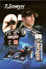 2011 TOMAS SCHECKTER INDIANAPOLIS 500 PHOTO CARD POSTCARD INDY CAR REDLINE XTREM