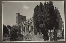 St. Dunstan's Church. Cranbrook, Kent.    RP. Old Postcard Photograph    Q.130