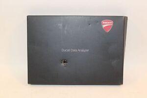 Ducati Streetfighter S 2010 1098 848 1198 DDA Plug Data Analyzer CD & Unit