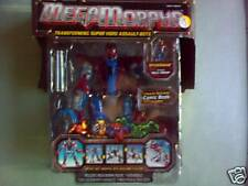 Marvel SpiderMan MegaMorphs, Transformers