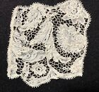 Study fragment late 17th C. Point de France needle lace COLLECTOR